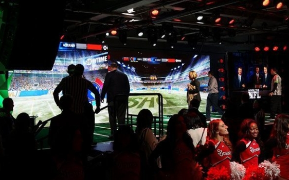 Inside nfl event experience space
