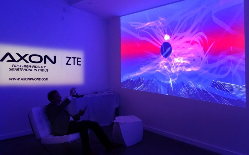 Zte launch event ekg projection